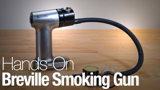 Hands-on with the Breville Smoking Gun food smoker