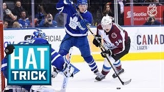 Carl Soderberg tallies first career hat trick to power Avalanche past Maple Leafs