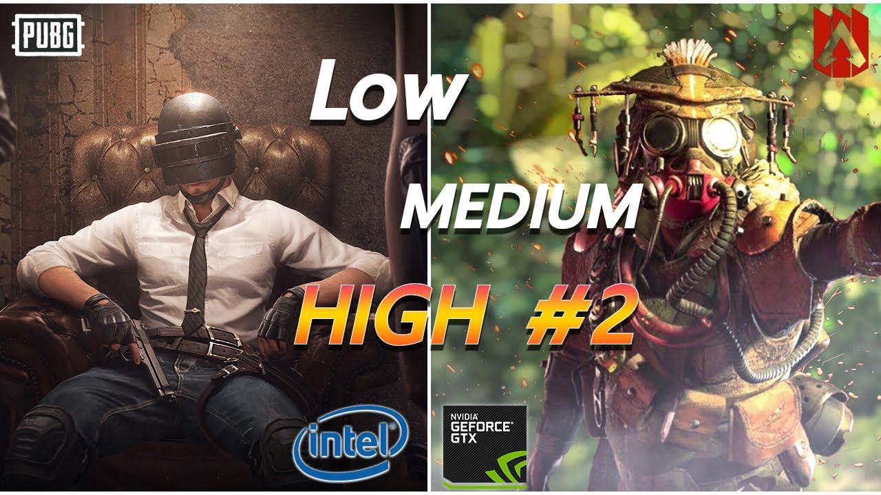 Review Spec i3 8100 + GTX 1050ti High Setting 60fps l PUBG Apex l 1080p