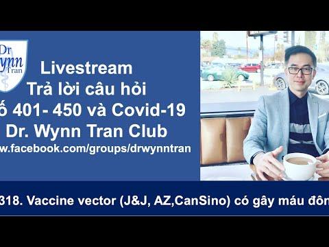 #318. Livestream Covid-19 về các loại Vaccine vector (Johnson & Johnson, AstraZeneca, CanSino)