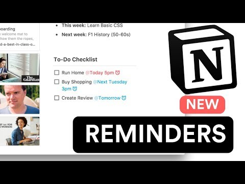 Reminders by Notion: A step forward!