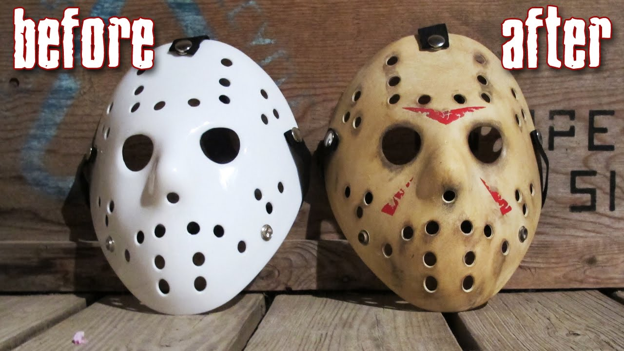 How to make a killer jason mask for under 25 friday the 13th diy how to make a killer jason mask for under 25 friday the 13th diy painting tutorial youtube maxwellsz