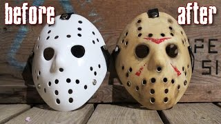 How to Make a Killer Jason Mask for Under $25 - Friday The 13th DIY Painting Tutorial