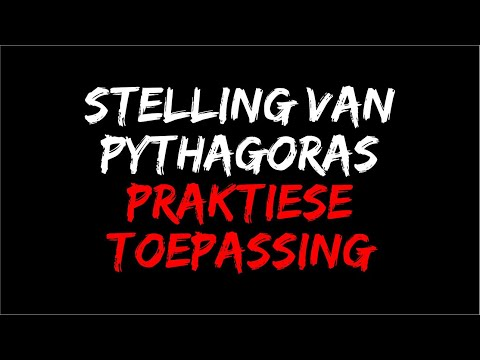 Uitleg stelling van Pythagoras from YouTube · Duration:  11 minutes 21 seconds