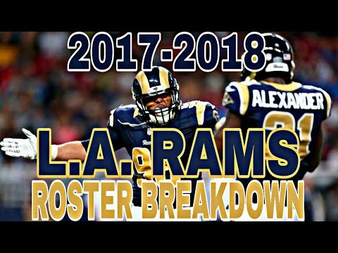 2017 2018 La Rams Roster Breakdown 4 12 Madden 18 Rosters Youtube