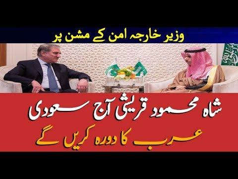 FM Shah Mehmood Qureshi to visit Saudi Arabia today