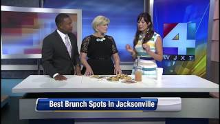 Amy West talks Best in Brunch on News 4 Jax | Amy West Travel