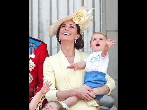 Prince Louis Pulls Off The Cutest Royal Wave And Melts Everyone's Hearts