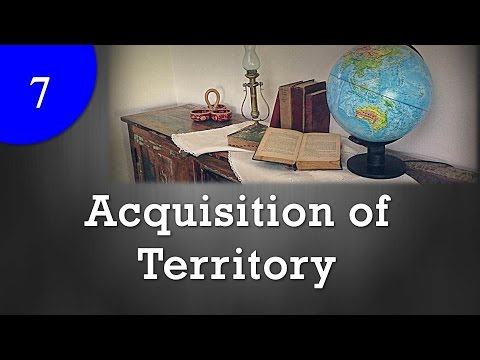 Acquisition of Territory : International law