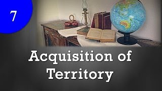 Acquisition of Territory : International law thumbnail