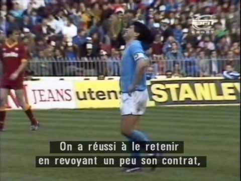 Le Napoli de Maradona