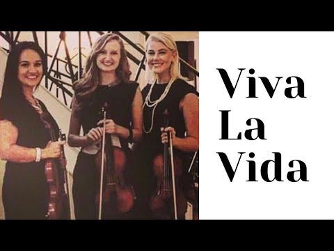 Viva la Vida - string trio - violin trio (Coldplay cover)