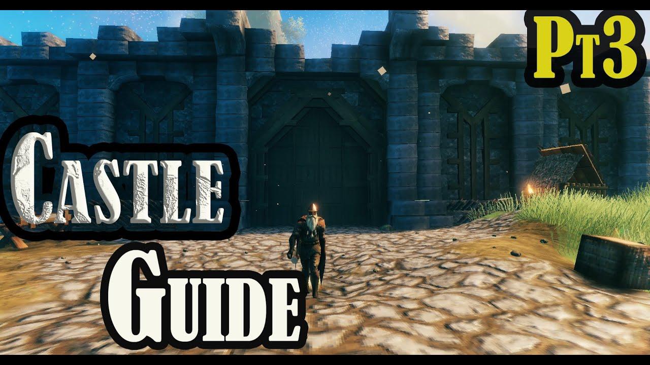 Download Valheim   how to build a Castle  pt 3 Building Ep #12