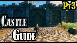 Valheim - Castle building guide pt 3 castle stone walls
