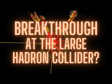 Breakthrough at the Large Hadron Collider