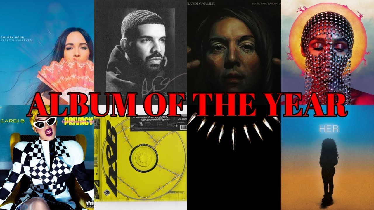 61st Annual Grammy Awards Nominees And Winners: Album Of The Year NOMINATIONS