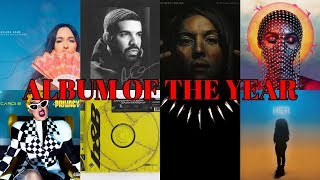 Album of the Year NOMINATIONS | 61st Annual Grammy Awards, 2019 #Grammys