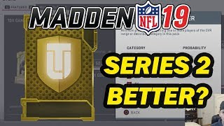 ARE SERIES 2 GET A GOLD PLAYER PACKS BETTER?? MUT 19 PACK OPENING