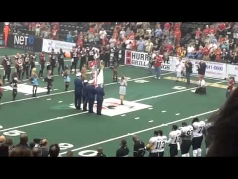National Anthem for the Jacksonville Sharks