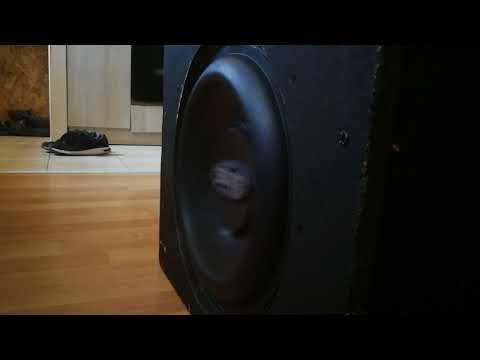 Bassotronics - 90 Days Without Bass (Slowed 33-28-25Hz) on boschmann 12