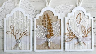 Exquisite Shadow Box Tags