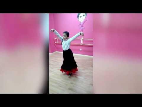 Clase de Flamenco para niñas