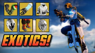 """Destiny - Exotic """"House of Wolves"""" Armor - New Exotic DLC!"""