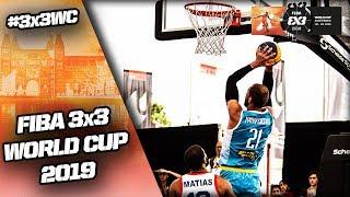 Puerto Rico v Ukraine | Men's Full Game | FIBA 3x3 World Cup 2019