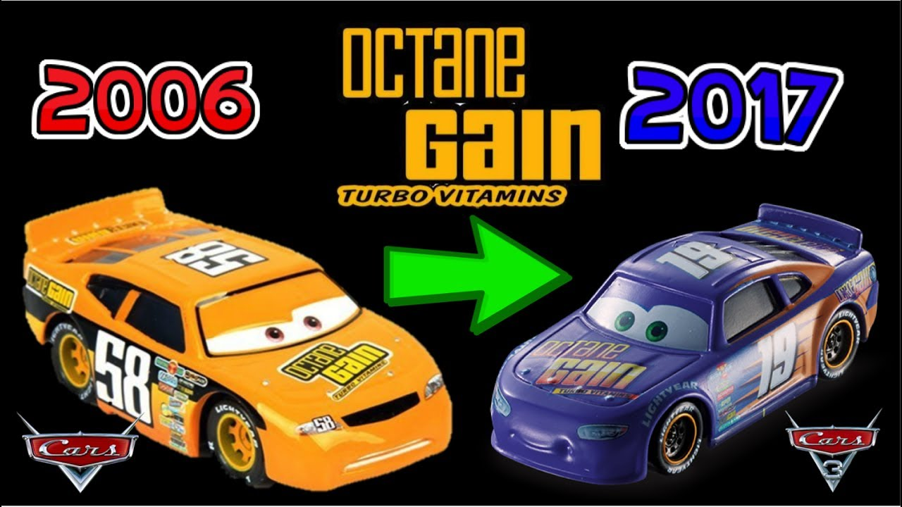 Cars 3: Piston Cup Racers 2006 vs 2017 NEW Racers Comparison SPONSORS