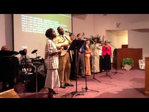 Against the odds at Divine Love Tabernacle (Arlington,WA) with Reisa Young and the saints...