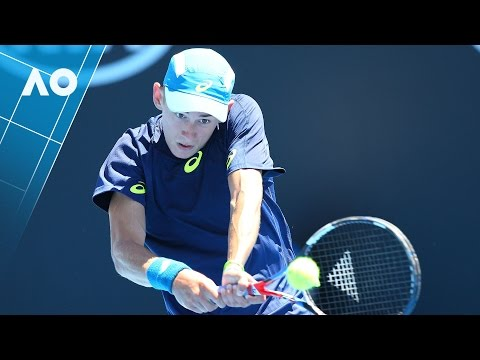 De Minaur v Melzer match highlights (1R) | Australian Open 2017