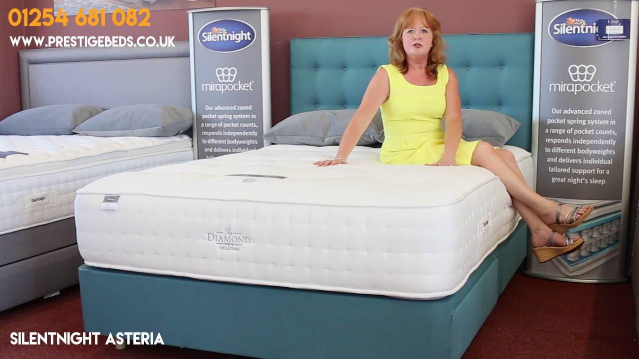 silentnight asteria bed and mattress review youtube