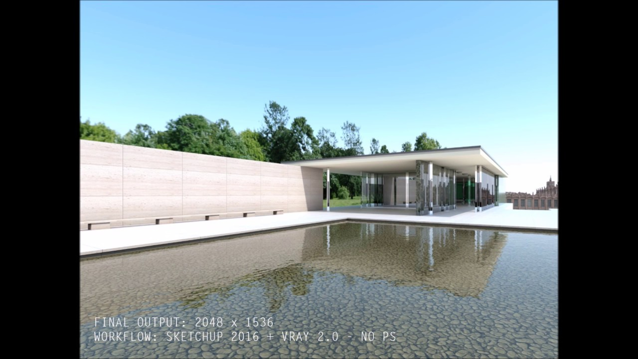 VRAY for SKETCHUP Tutorial- Vray Sun & Sky