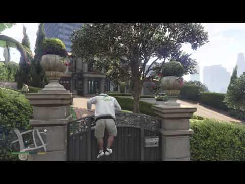 จีทีเอ 5 - มุดเข้าบ้านคนอื่น แสนสุขใจ ใน GTA V Playstation 4