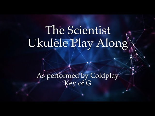 The Scientist Ukulele Play Along
