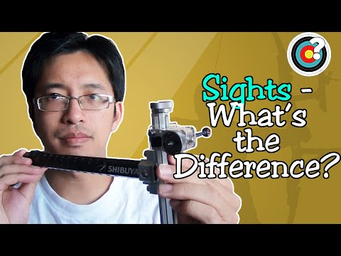 Archery   Sights - What's the Difference?