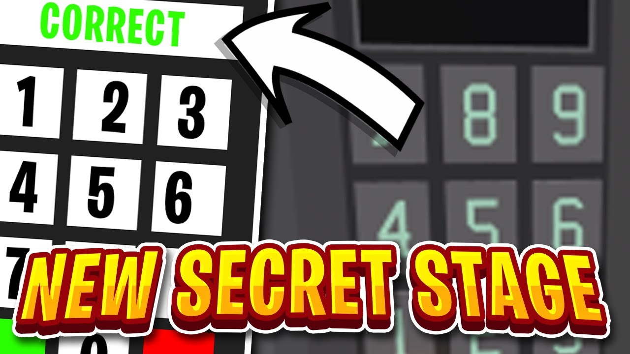 The New Safe Code Secret Stage In Tower Of Hell Roblox Toh Youtube