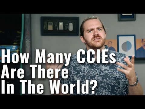 How Many CCIEs Are There In The World?