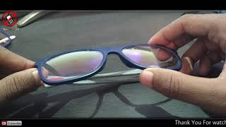 How To Identify Blue Cut Anti Glare Lens And Its Advantages In Hindi