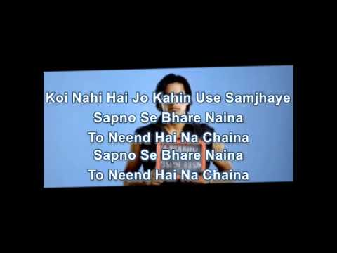 Sapnon Se Bhare Naina Karaoke