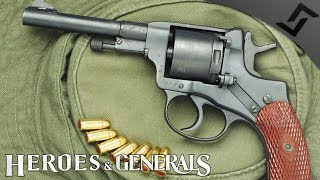 Russian Dirty Harry Revolver - Heroes and Generals - Nagant Revolver Gameplay