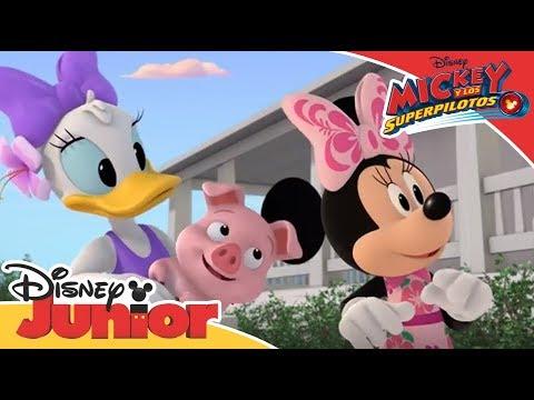 Mickey y los Superpilotos: Momentos mágicos - ¡Feliz cumpleaños abuelo Kai! | Disney Junior Oficial