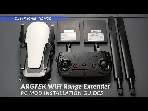 DJI Mavic Air - ARGtek WiFi Range Extender Installation Guides