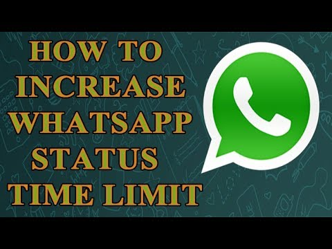 Increase Whatsapp Status Time Limit Without Root
