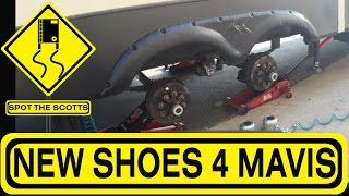 SpotTheScotts: Replacing ALL of our Fifth Wheel Tires! ~ RV Life! {#296}