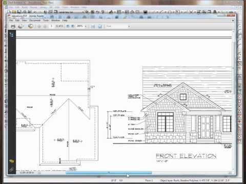 Build A Custom Roof Using Chief Architect Youtube
