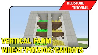Vertical Farm [Wheat/Potato's/Carrots]