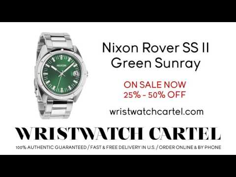 Nixon Rover SS II Green Sunray