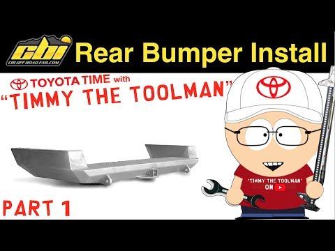 CBI Dual Swing Out Rear Bumper Install (Part I)