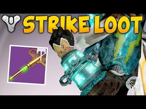 Destiny: ALL NEW STRIKE LOOT ITEMS! Rise of Iron Strike Specific Rewards & Gameplay